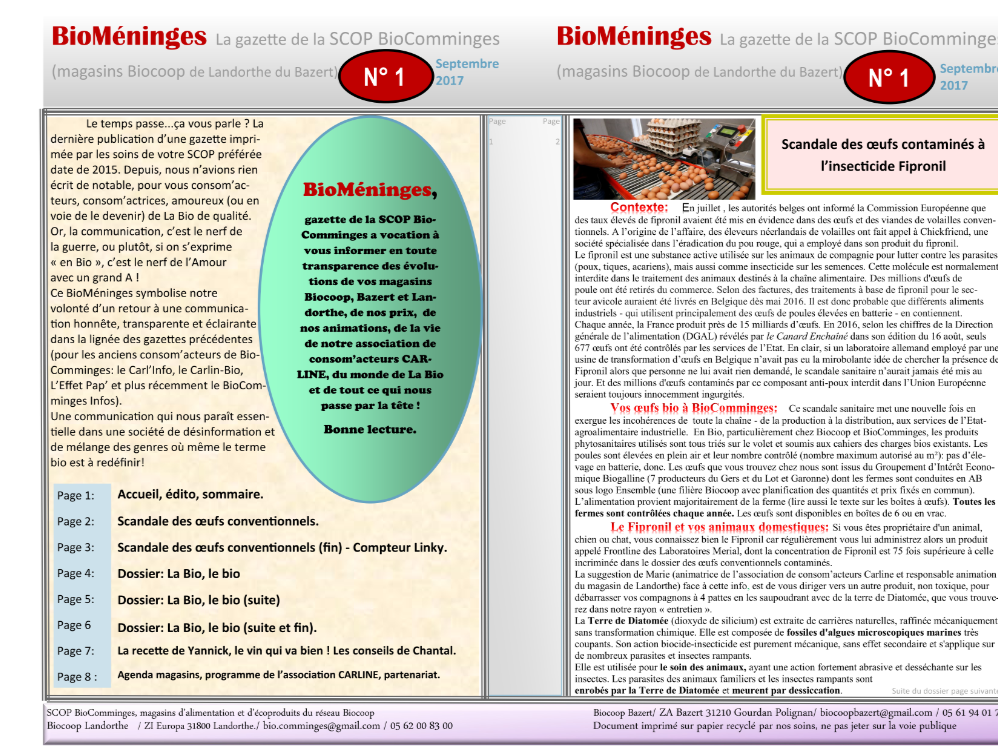 BioMéninges N°1